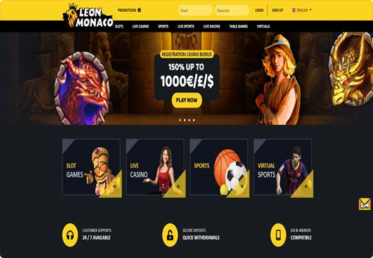 Leon Monaco screenshot lobby
